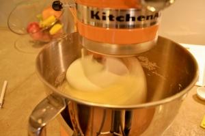 stand mixer kneading dough